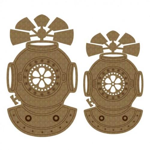 Steampunk Diver's Helmet - Steampunk