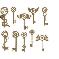 Steampunk Keys