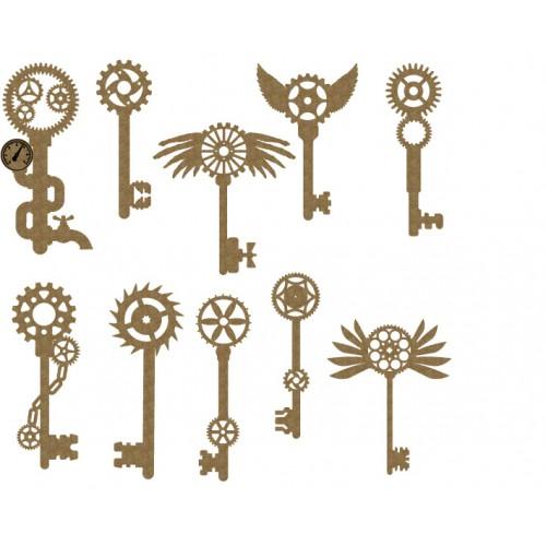 Steampunk Keys - Steampunk