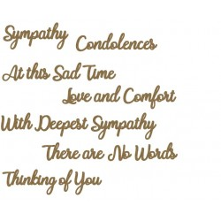 Sympathy Word Set
