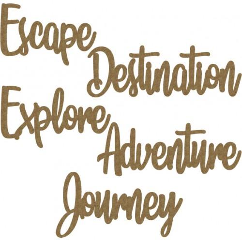 Travel Word Set 1 - Words
