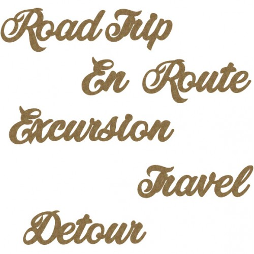Travel Word Set 2 - Words