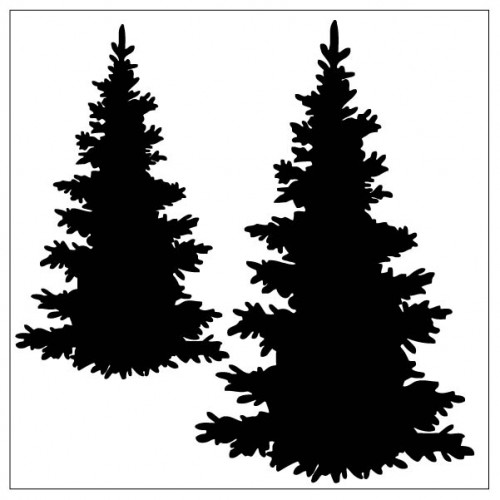 Tree's Stencil - Stencils