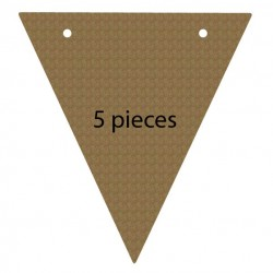 Triangle Pennant Banner Set