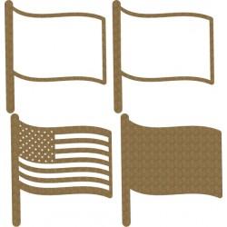 USA Flag Shaker