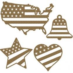 USA Love Set