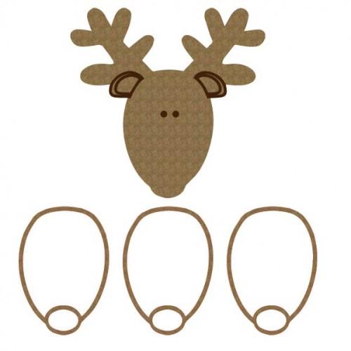 Whimsical Deer Shaker - Shaker Sets