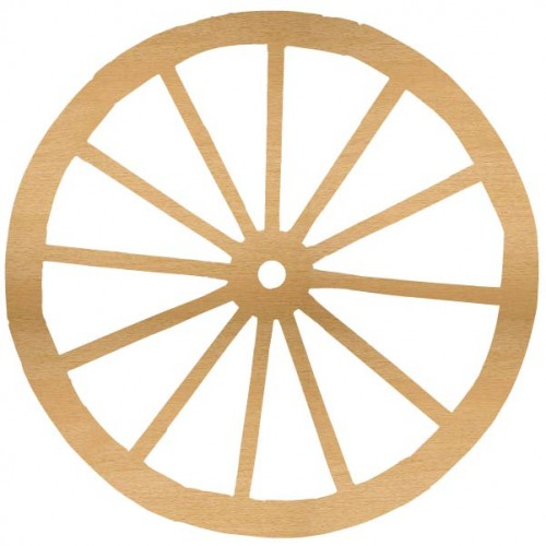 Wagon Wheel - Home Decor