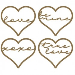 Love Sentiment Hearts
