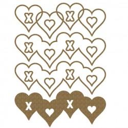 xoxo Hearts Shaker