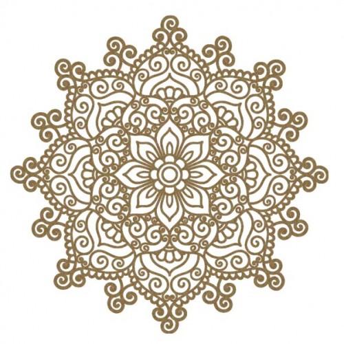 Intricate Doily - Flourishes