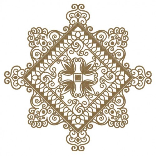 Intricate Diamond - Flourishes
