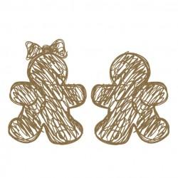 Scribble Gingerbread Set