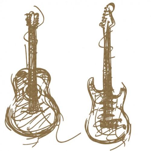Scribble Guitars - Christmas