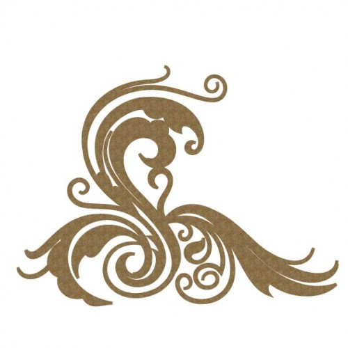 Wavy Flourish - Flourishes
