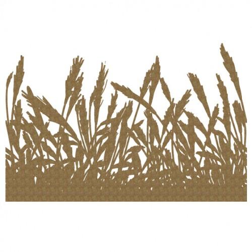 Large Wheat Border 2 - Borders