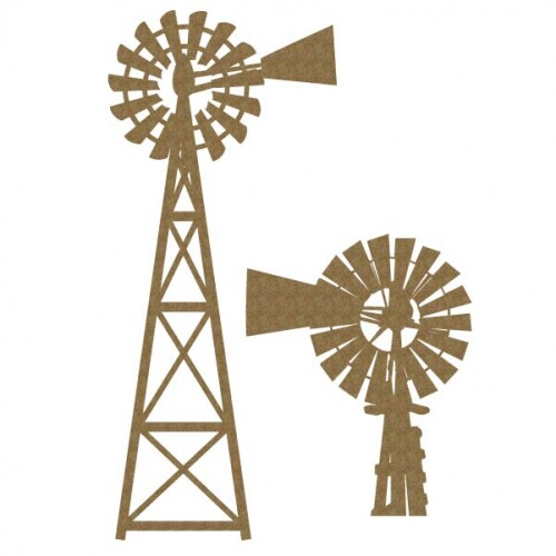 Farmhouse Windmills - Fans